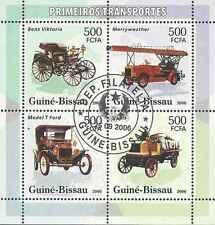 Timbres Voitures Pompiers Guinée Bissau 2178/81 o lot 25427