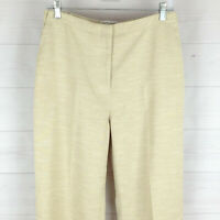 Draper's & Damon's womens size 10P stretch beige side elastic high rise pants