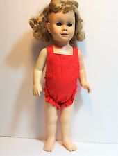 Vintage 1960 Mattel Chatty Cathy Doll - Original Outfit - Blonde