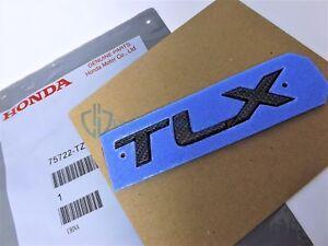 Acura TLX 2015-2017 Carbon Fiber Emblem Nameplate Trunk Lid Badge OEM Letters