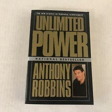 Unlimited Power : The New Science Of Personal Achievement Paperback Book