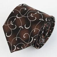 SEIDE  100% Seiden Krawatte Tie Cravate 100