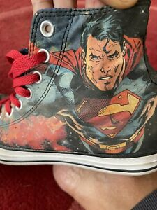 DC Comics Superman Converse Size 7