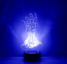 Zombie Horror Walking Dead LED Night Light Lamp