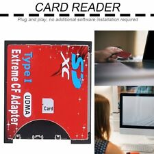 SD SDHC SDXC To CF Compact Flash Memory Card Adapter Reader KW