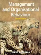 Management and Organisational Behaviour by Laurie J. Mullins (Paperback, 1995)