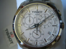 TISSOT COUTURIER MEN'S WATCH CHRONO SAPPHIRE ALL S/S ORIGINAL T0356171103100