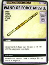 Pathfinder Adventure Card Game - 1x Wand of Force Missile - Burnt Offerings