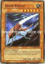 Yu-Gi-Oh 3x Saber Beetle - - - 5DS2