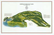 Harbour Town Golf Links  1969 Dye/Nicklaus-Vintage Golf Course Maps print