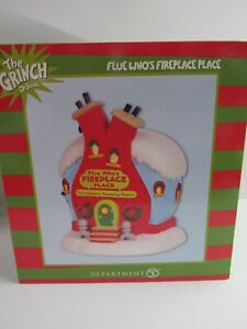 Dept 56 The Grinch Flue Who's Fireplace Place 6003319