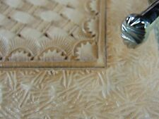 Steel Kyoshin Elle - #F282 Matting Background Stamp (Leather Stamping Tool)