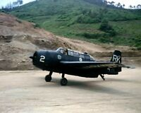 "U.S. Navy Grumman TBM-3R Avenger Fighter Plane 8""x 10"" Korean War Photo 22"