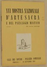 XVI MOSTRA NAZIONALE ARTE SACRA PAESAGGIO MISTICO ARAF CELEGHIN SEBASTIO ALCIONE