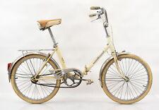 Vintage Paris Sport Folding Bike White