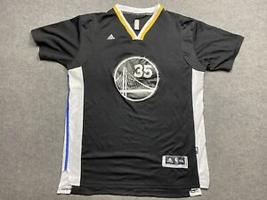 Golden Gate Warriors Basketball Jersey Mens 3 Extra Large Player 35 Durant Sewn