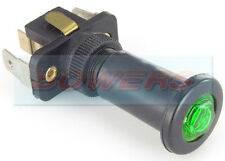 GREEN ILLUMINATED 12V 24V VOLT 16A UNIVERSAL ON/OFF LONG PUSH/PULL SWITCH