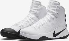 Nike Womens Hyperdunk 2016 TB White/Black  844391-110 Size 10 NIB