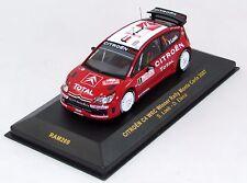 CITROEN C4 WRC WINNER RALLY MONTE CARLO 2007 N°RAM269 1/43 IXO