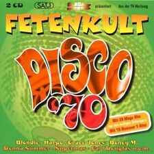 Fetenkult Disco '70 Boney M., Amanda Lear, Blondie, Ottawan, Harpo, Bac.. [2 CD]