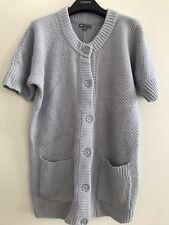 Gap Grey Medium Knit Cardigan With Button Fastening Small UK 8 10