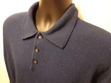 Men's Geoffrey Beene Polo Rugby Sweater 100% Acrylic Sz 2XL XXL
