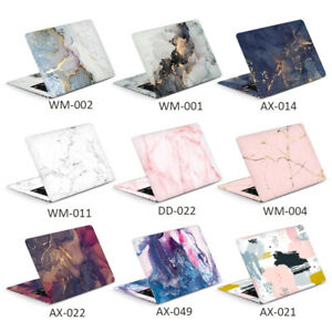DIY Colorful Marble Laptop sticker skin 11/12/13/14/15/17 inch For All Brands