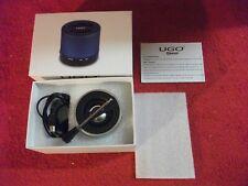 UGO Bluetooth Wireless Mini Speaker - Silver new in open box