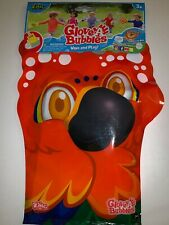 Glove A Bubble Wave and Play 2 Parrot Character Bubbles