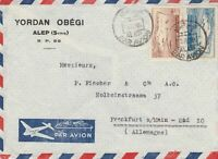 1951: air mail Alep to Frankfurt