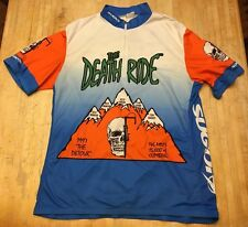 Mens SUGOI The Death Ride Short Sleeve Cycling Jersey XL