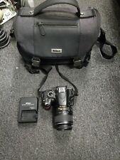Nikon D3200 24.2MP Digital SLR Camera - Black Kit w/ DX 18-55mm Lens