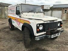 1990 Land Rover Defender 110 4C SW DT Diesel White * Recovery *