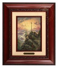 Thomas Kinkade Sunrise Brushwork (Brandy Frame)