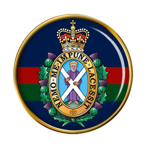 Black Watch 42nd Royal Highland Regiment of Foot, British Army Pin Badge