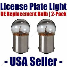 License Plate Bulb 2pk OE Replacement Fits - Listed Mercury Vehicles - 97