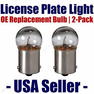 License Plate Bulb 2pk OE Replacement Fit - Listed Chevrolet Vehicles (d) - 97