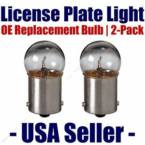 License Plate Bulb 2pk OE Replacement Fits - Listed Nissan/Datsun Vehicles - 97