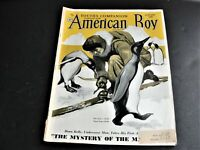 The Youth's Companion Combined with American Boy January 1938 Magazine .