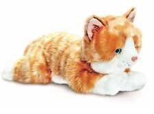 Keel Toys Signature 25cm Ginger /Orange Tabby Cat / Kitten Cuddly Plush Soft Toy