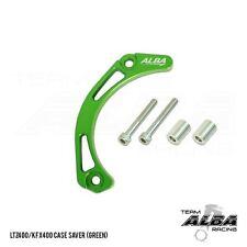Kawasaki KFX400 KFX400  Case Saver  Billet Aluminum  Green  Alba Racing 206-T6-G