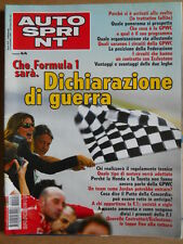 AUTOSPRINT n°44 2004 BMW 320 CD Cabrio - Speciale Carlos Sainz Rally   [P68]