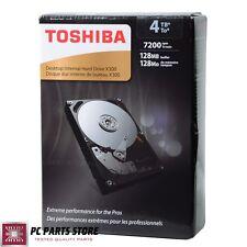 """Toshiba Internal Hard Disk Drive 4TB X300 SATA III 6Gb/s 3.5"""" 7200RPM Desktop"""