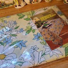 Vintage Flower Power Tablecloth Retro Groovy NIP