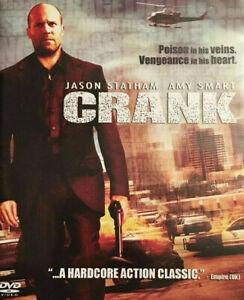 Crank DVD - Thriller Mystery - Jason Statham REGION 4 AUST