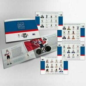 Isle of Man Stamps 2021 Great British Olympians Prestige Booklet (Mint)