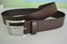 Boss Hugo Boss Men's Leather UMBE Belt Brown Size 36 Brand new