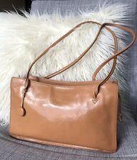 monsac leather handbag purse camel