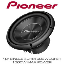 "Pioneer TS-A250S4 10"" SVC Single 4 Ohm Car Sub Subwoofer 1300W Total Power"