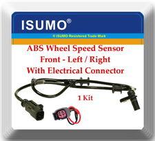 1 ABS Wheel Speed Sensor W/ Connectors ALS2116 Front L or R Fits: Aspen Durango